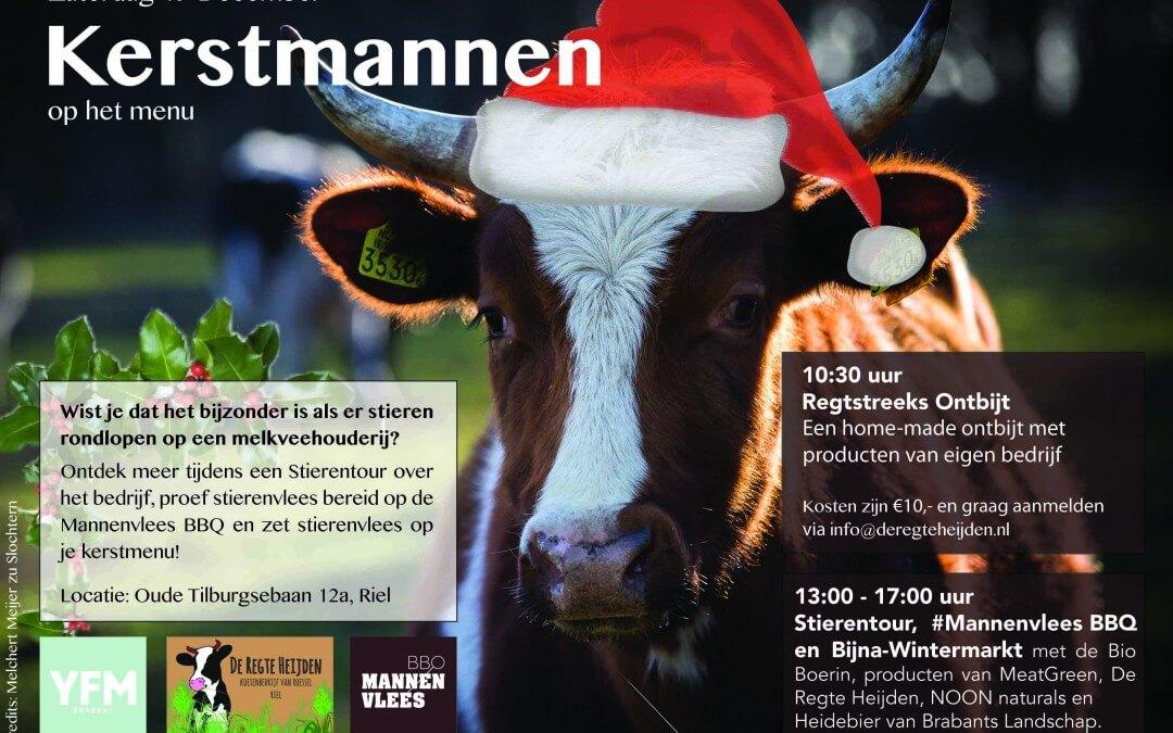 Stierentour, #Mannenvlees BBQ en Bijna Wintermarkt
