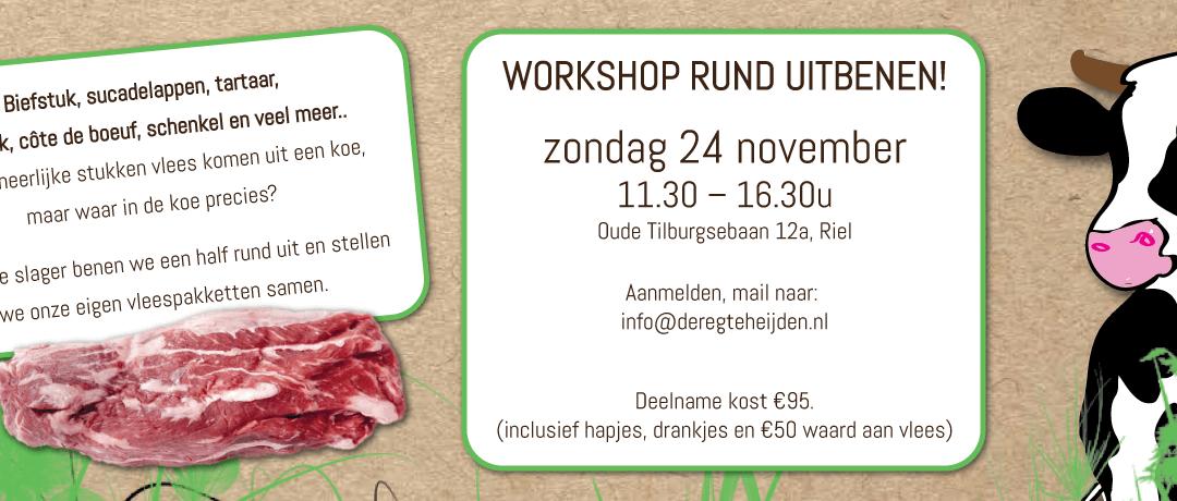 Workshop Rund Uitbenen (24 november 2018)